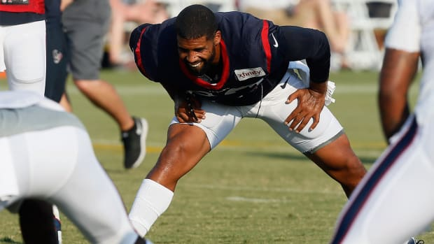 Reports: Arian Foster suffers groin injury at practice IMAGE