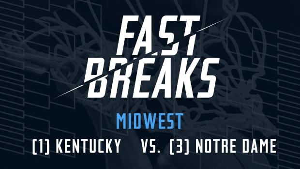 Fast Breaks: (1) Kentucky vs. (3) Notre Dame IMG