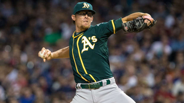 Mets acquire Tyler Clippard from Athletics IMAGE