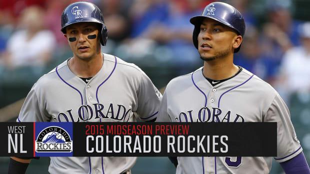 Colorado Rockies 2015 midseason preview IMAGE
