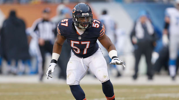 Reports: Patriots trade for Bears linebacker Jon Bostic--IMAGE