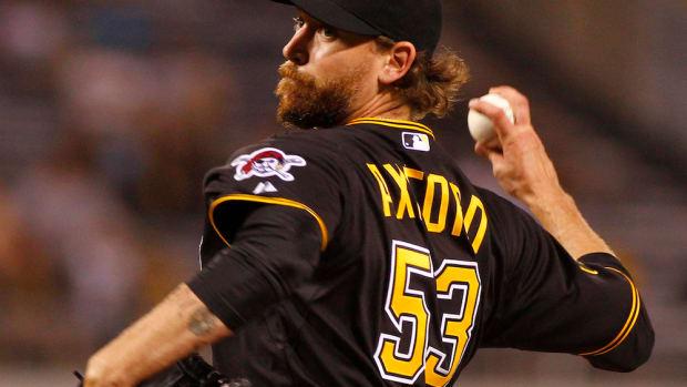 john axford colorado rockies minor league contract