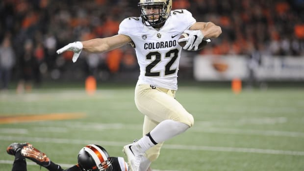 Colorado's Nelson Spruce is a campus star, but remains one of the nation's most unheralded players