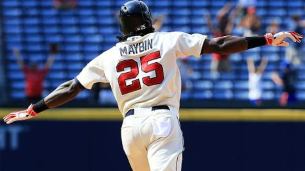 Detroit Tigers acquire OF Cameron Maybin from Atlanta Braves -- IMAGE