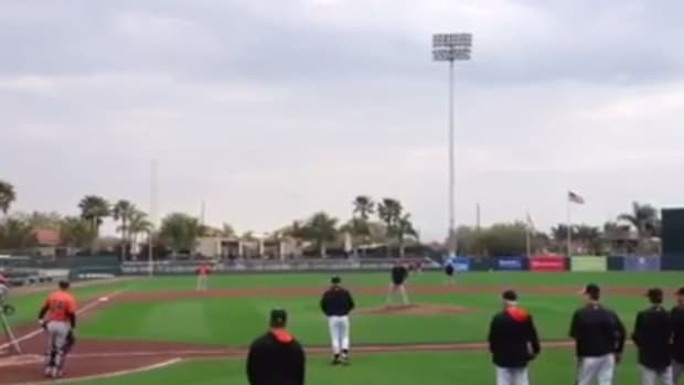 baltimore orioles spring training police noise