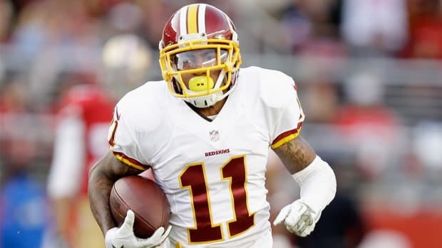 Report: Redskins WR DeSean Jackson (hamstring) expected to miss three to four weeks IMAGE