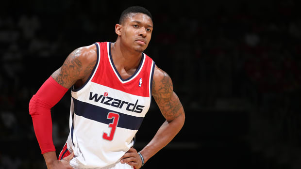 Wizards' guard Bradley Beal out indefinitely with stress reaction IMAGE