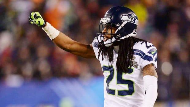 Richard Sherman Seahawks Super Bowl 2015 2