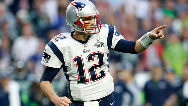 Tom Brady New England Patriots Super Bowl 2015 Seattle Seahawks