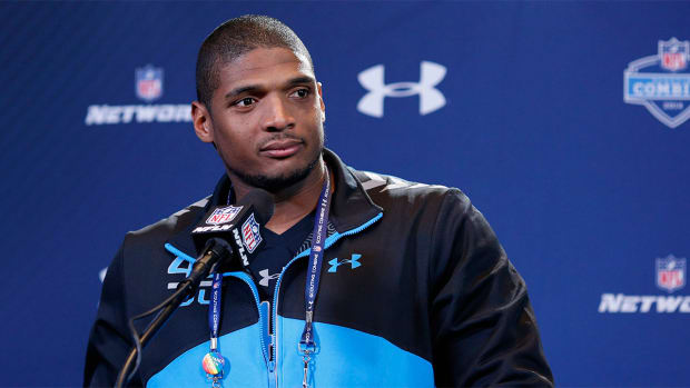 Michael Sam: 'I actually wish I went undrafted' -- IMAGE