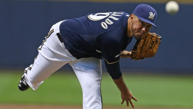 Report: Rangers nearing deal for Brewers' Yovani Gallardo