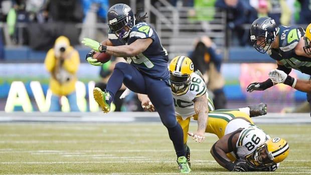 Marshawn Lynch Seahawks Super Bowl 4