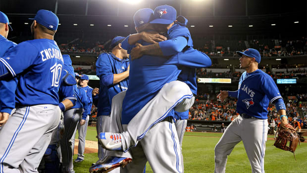 Toronto Blue Jays clinch first American League East title in 22 years - IMAGE