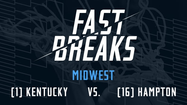 Fast Breaks: (1) Kentucky vs. (16) Hampton preview IMAGE