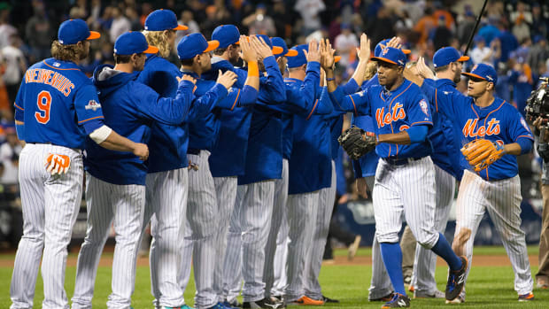 Mets rout Dodgers 13–7 in NLDS Game 3 - IMAGE