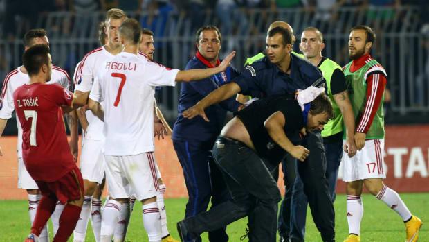 Albania-Serbia drone clash