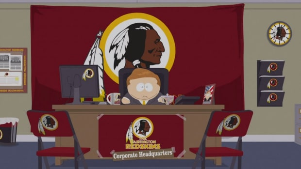 Washington Redskins get made fun of on South Park