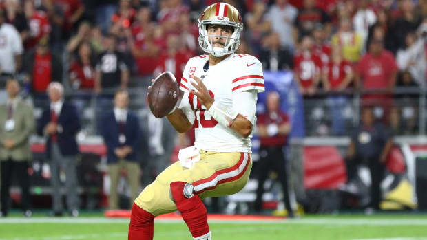 San Francisco 49ers QB Jimmy Garoppolo