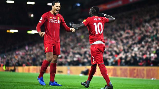 Van-Dijk-Mane-Celebrate-Liverpool