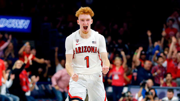 Arizona Nico Mannion college basketball pac 12