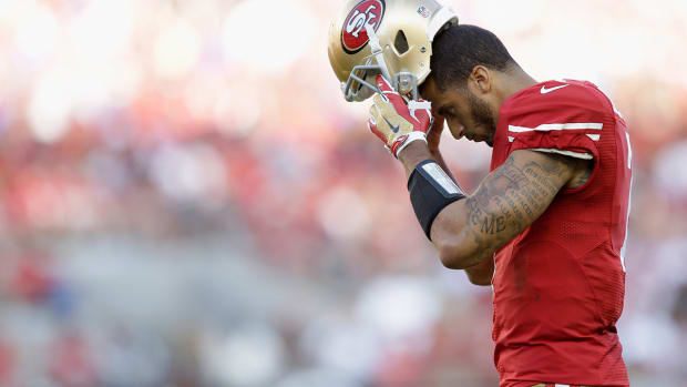 NFL says ruling of Colin Kaepernick's fumble was correct