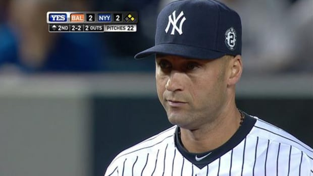 Derek Jeter photoshopped picture