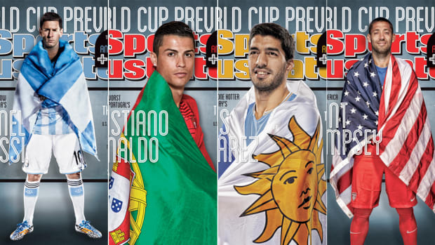 Sports Illustrated World Cup Covers