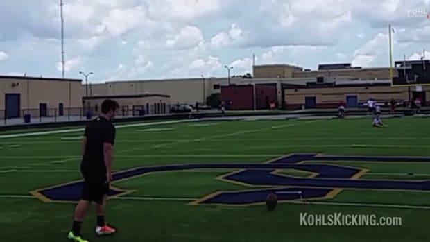 Oklahoma football kicker