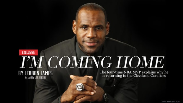 LeBron James Cleveland Cavaliers Return