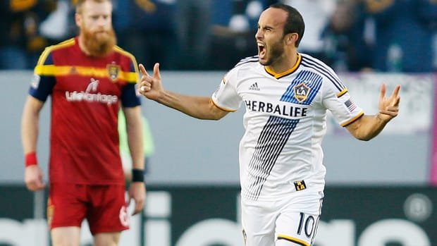 Landon Donovan makes record seventh MLS Best XI  IMAGE