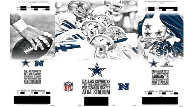 Dallas Cowboys playoff tickets sent out early
