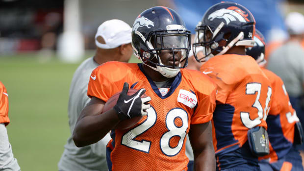 broncos montee ball medically cleared
