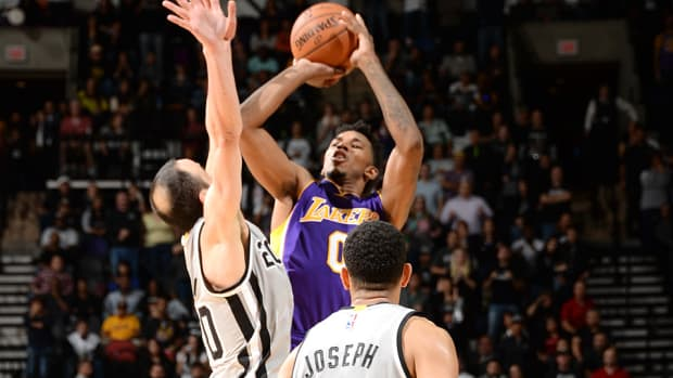 Nick Young Lakers Spurs 960