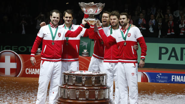 Swiss win davis cup