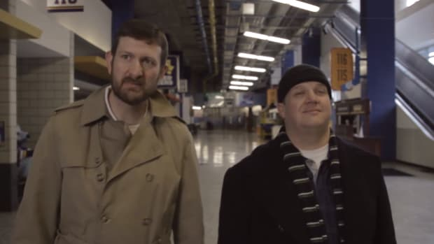 st louis blues home alone video