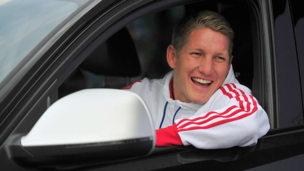 Germany captain Bastian Schweinsteiger