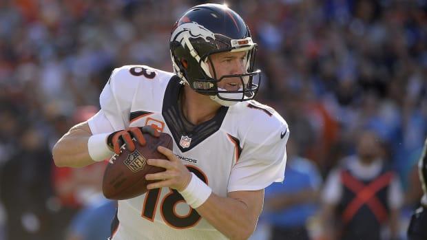 Peyton Manning Denver Broncos return 2015