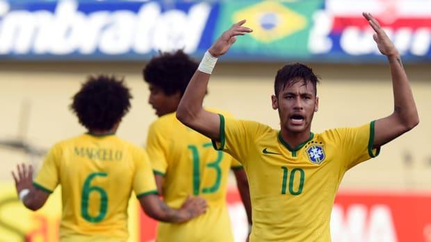 Neymar Croatia Game 1