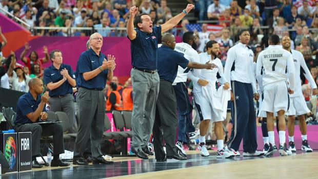 Mike Krzyzewski usa basketball summer story