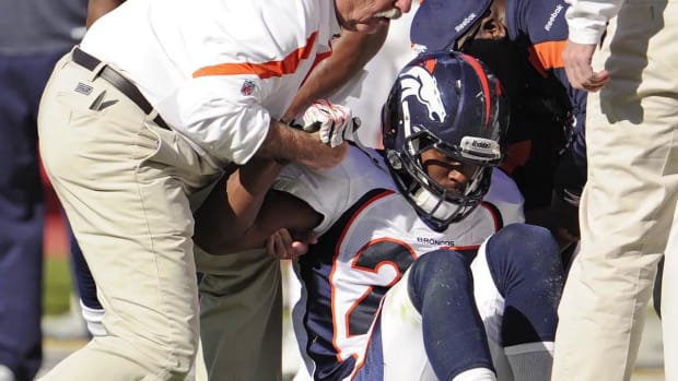 Knowshon Moreno placed on season-ending IR with torn ACL
