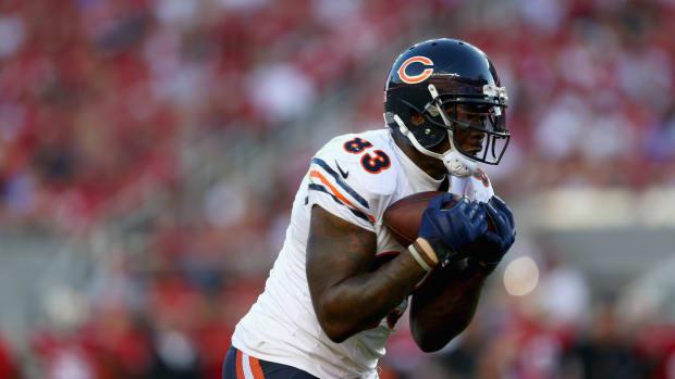 Chicago Bears tight end Martellus Bennett injuries last season