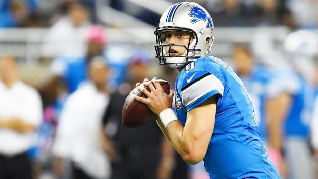 Matthew Stafford approaches Dan Marino record