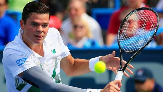 Milos Raonic Citi Open