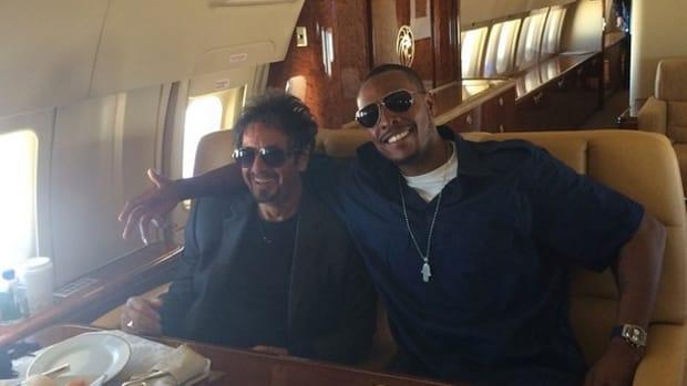 Washington Wizards Paul Pierce al pacino private jet