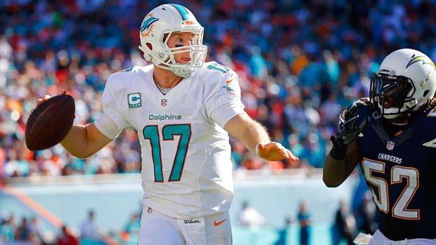 Ryan Tannehill Dolphins vs. Chargers