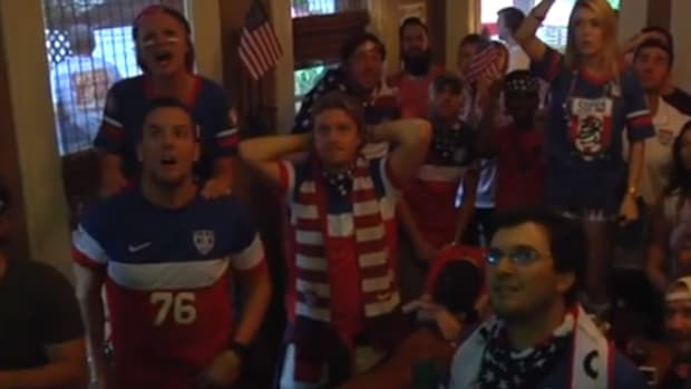 Fans React to Portugal goal
