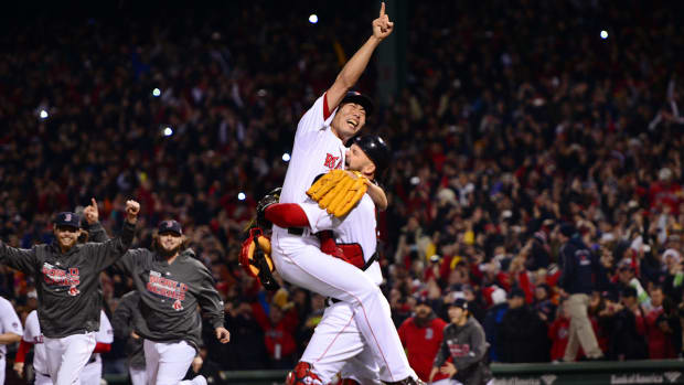 Red Sox re-sign Koji Uehara to two-year deal IMAGE