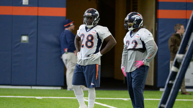 montee ball denver broncos injured reserve