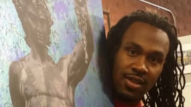 Atlanta's hottest artist is Falcons RB Steven Jackson