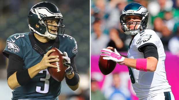 Could Mark Sanchez replace Nick Foles as the Eagles starting QB?